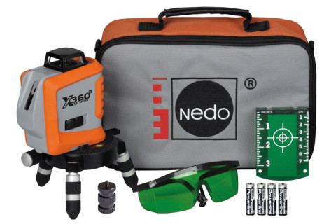 Nedo X-Liner 360² Green set